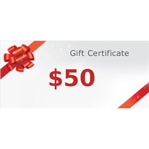 Gift certificate 50$